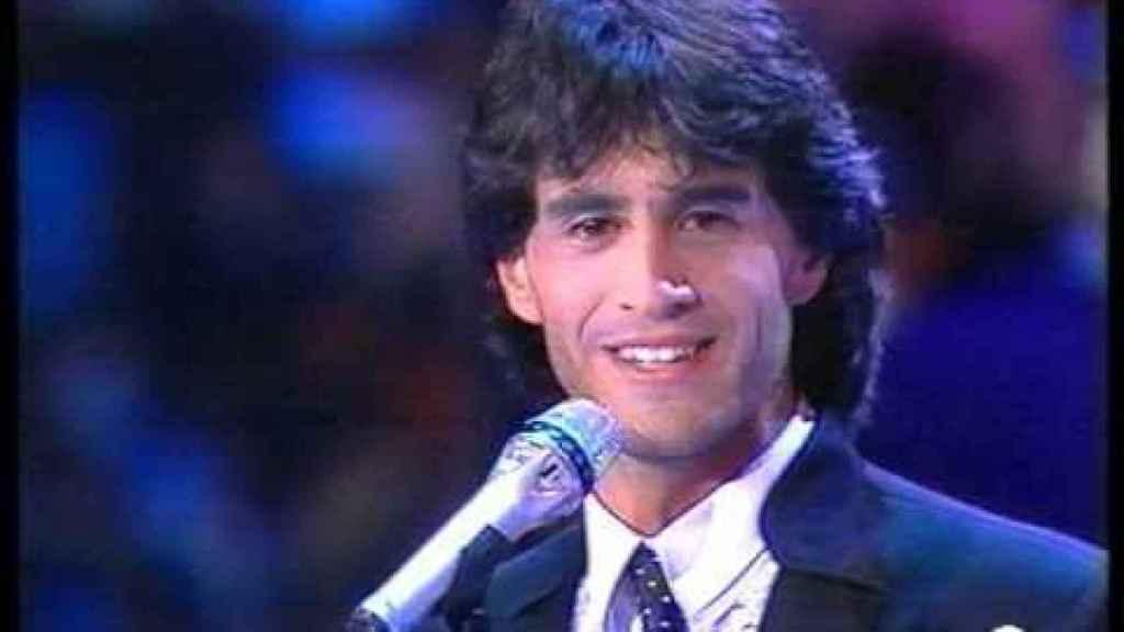 Sergio Dalma en Eurovisión.