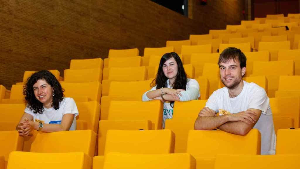 Los jóvenes matemáticos entrevistados.