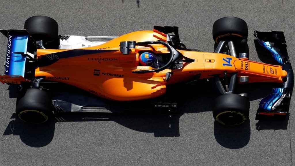 Se espera que las mejoras del McLaren en Barcelona surtan efecto.