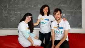 Los tres matemáticos entrevistados por EL ESPAÑOL.