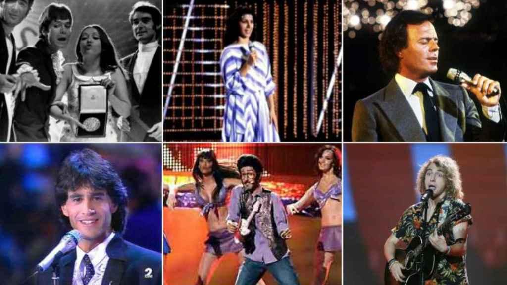 Participantes de Eurovisión desde 1961 hasta 2017.