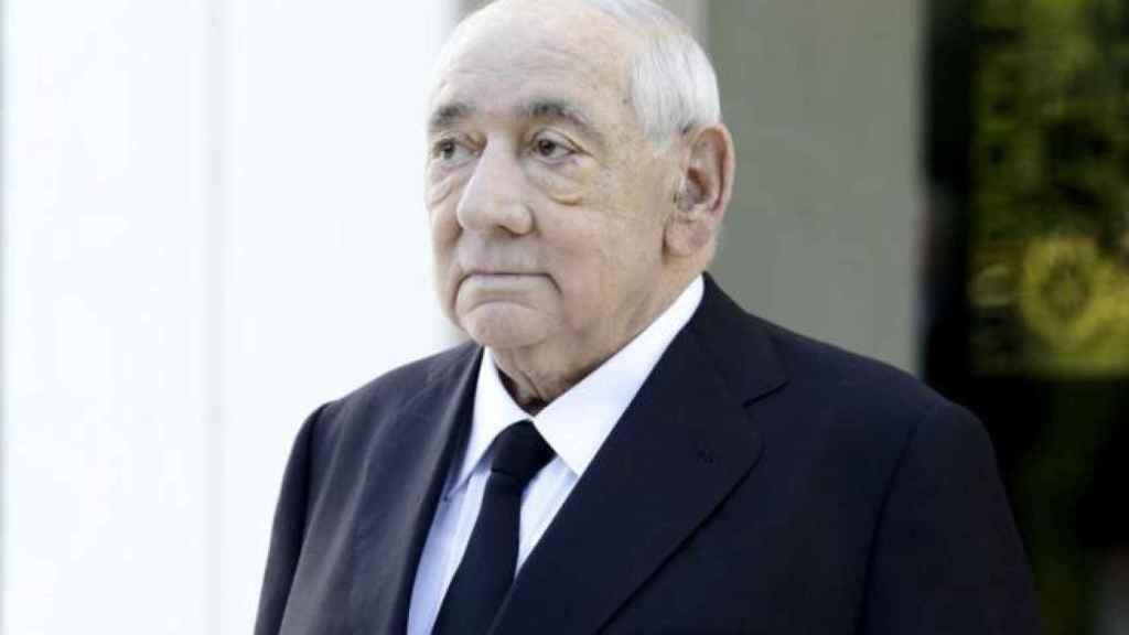 Isidoro Álvarez, expresidente de El Corte Inglés.
