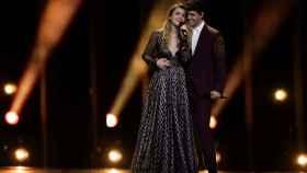 Amaia y Alfred durante su actuación en Eurovisión.