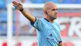 Pablo González Fuertes, árbitro que dirigirá el Real Madrid-Fuenlabrada. Foto: cadizcf.com