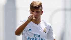 César Gelabert, jugador del Juvenil A del Real Madrid