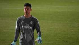 Belman, en un partido con el Madrid. Foto. Instagram (@javierbelman_)