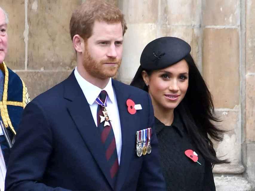 El príncipe Harry y Meghan Markle.  Gtres.
