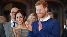 Príncipe Enrique y Meghan Markle.  Gtres