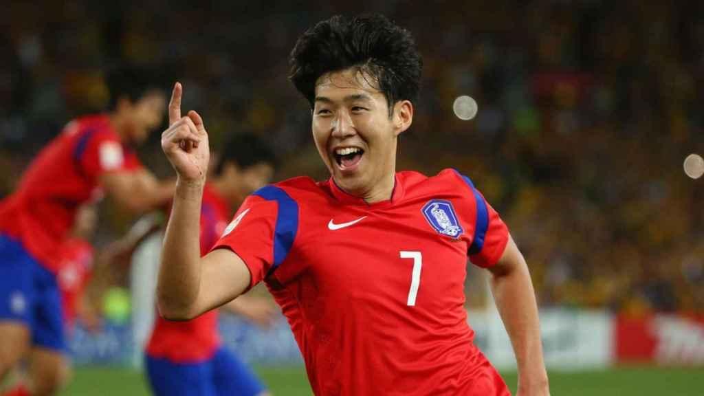 Son Heung-min, futbolista del Tottenham y gran estrella de Corea del Sur.