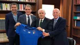Mancini vuelve a casa para entrenar a Italia.