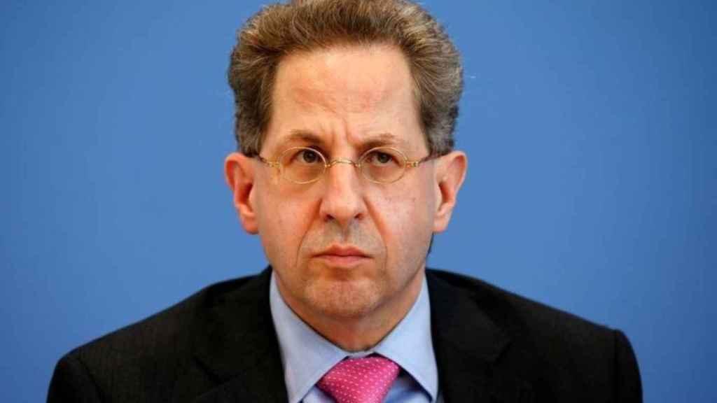 Hans-Georg Maassen, presidente de la inteligencia interior alemana.