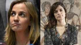 A la izquierda, Tania Sánchez. A la derecha, Clara Serra.