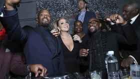 Jamie Foxx, Mariah Carey y Floyd Mayweather, en un 'fiestón' de cumpleaños.