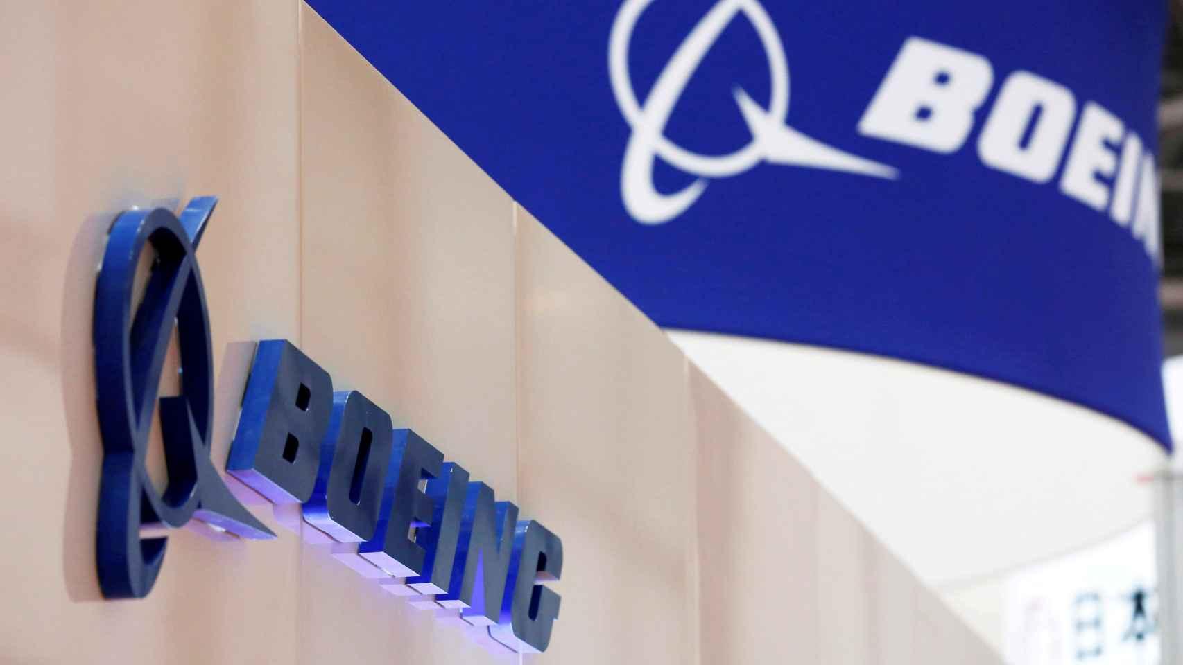 Logotipo de la empresa Boeing.