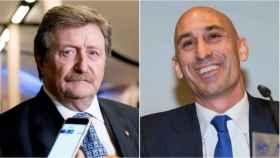 Juan Luis Larrea y Luis Rubiales son los dos candidatos a la presidencia de la RFEF.