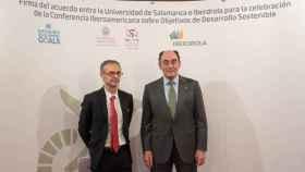 Ricardo Rivero e Ignacio Galan