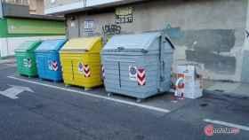 contenedores colores
