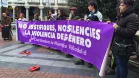Concentración Violencia de Género Coordinadora de Mujeres Valladolid 1