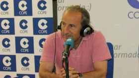Petón, en Deportes COPE. Foto: cope.es