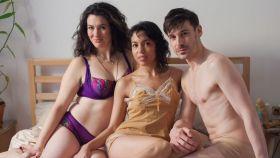 Sadie Lune, Lina Bembe y Parker Marx, de la Escuela del Sexo de Berlín.