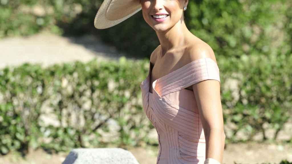 Paloma Cuevas en la boda de Rafael Medina Abascal y Laura Vecino.