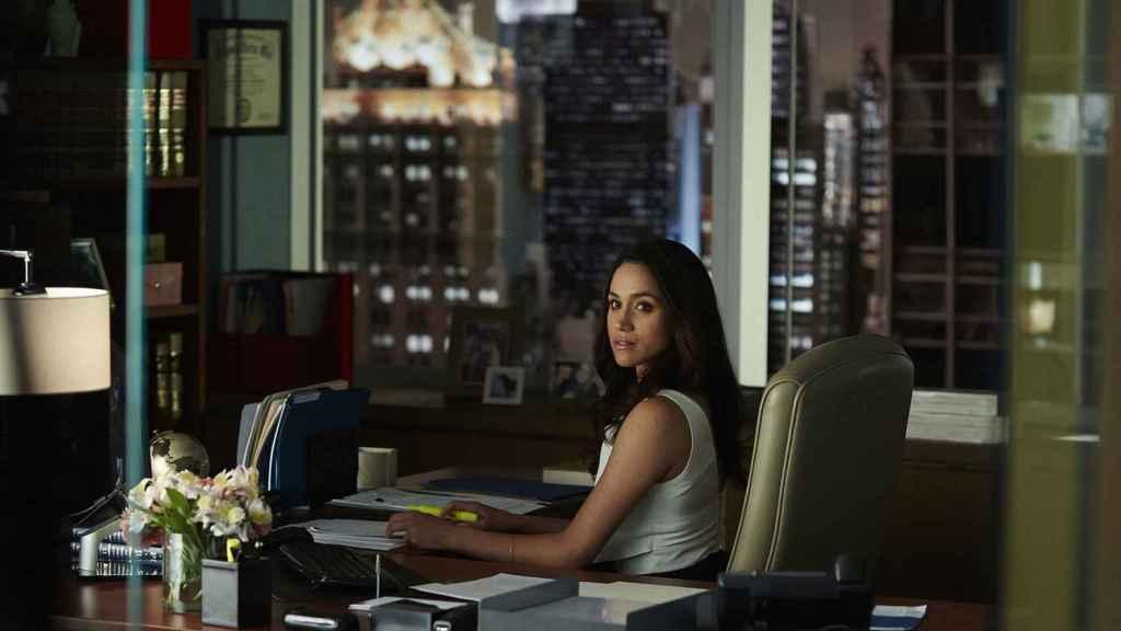 Meghan en la serie 'Suits'.