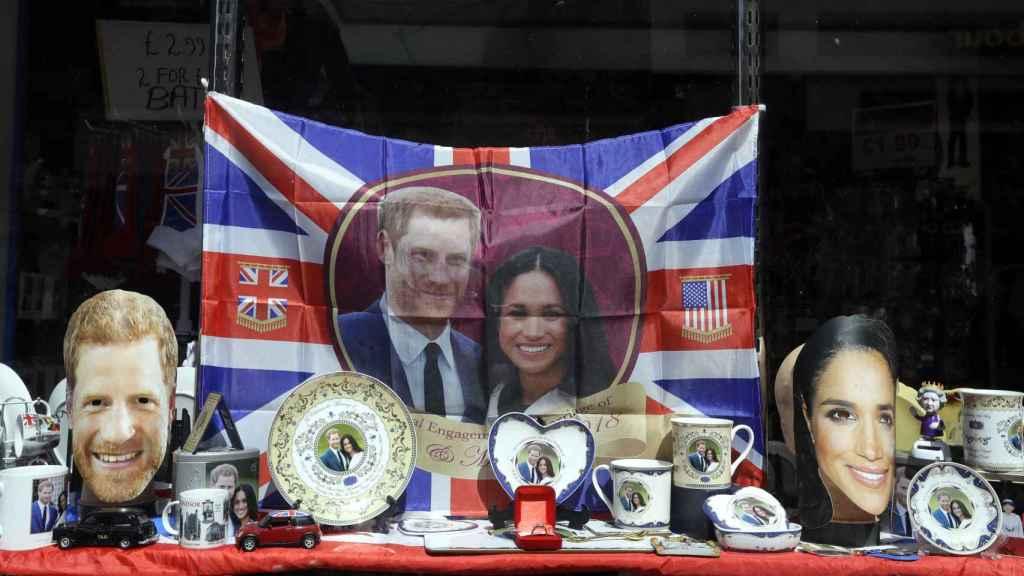 Souvenirs del príncipe Harry y Meghan Markle.