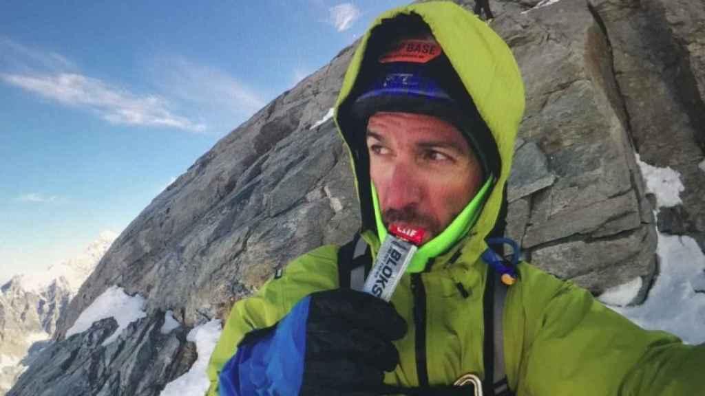 Sergi Mingote en una expedición.