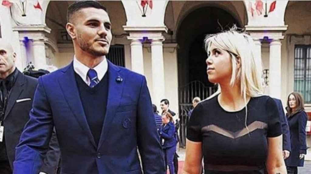 Mauro Icardi y Wanda Nara. Foto: Instagram (@wanda_icardi)