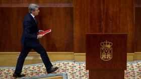 Ángel Garrido, este jueves en la Asamblea de Madrid.