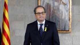 Quim Torra toma posesión de su cargo como presidente de la Generalitat.