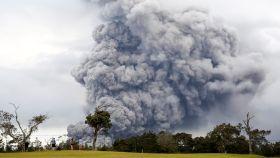 El volcán Kilauea de Hawái, durante la erupción.