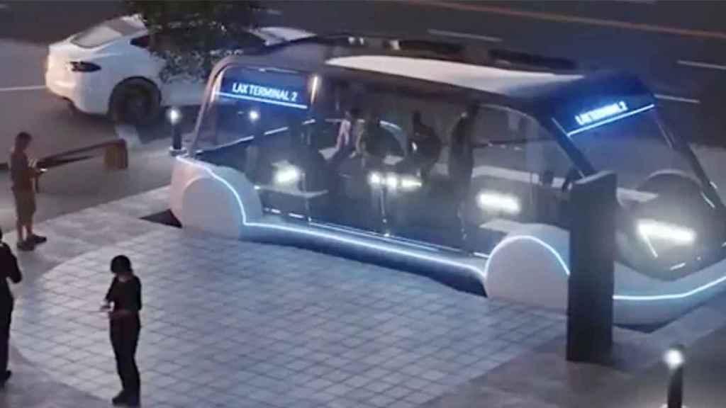 En el futuro, los túneles servirán para una especie de metro