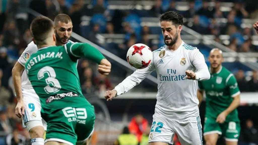 Isco y Benzema, contra el Leganés