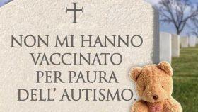 La imagen usada en la campaña publicitaria italiana.