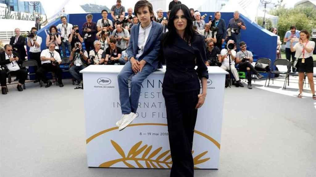 Nadine Labaki en Cannes.