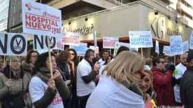 manifestacion defensa sanidad publica plataformas valladolid 13