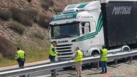 accidente camion a62