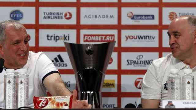 Obradovic y el Madrid desempatarán en títulos de Euroliga.