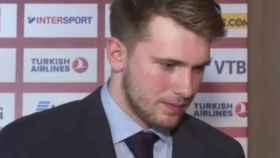 Doncic, tras recibir el MVP de la Euroliga