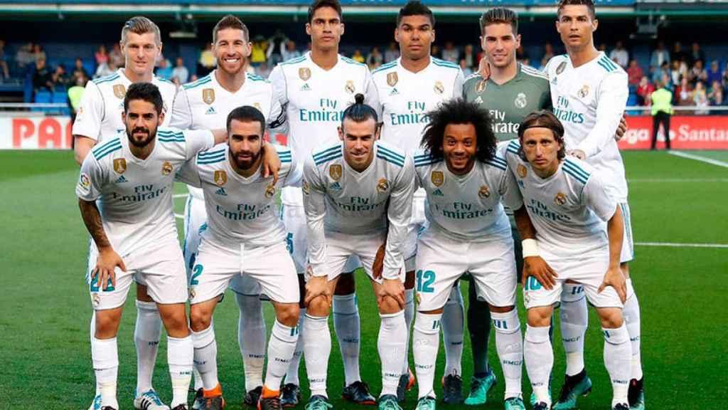 El once titular del Real Madrid frente al Villarreal