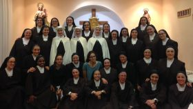 Las Esclavas Carmelitas de la Sagrada Familia de Cuenca.