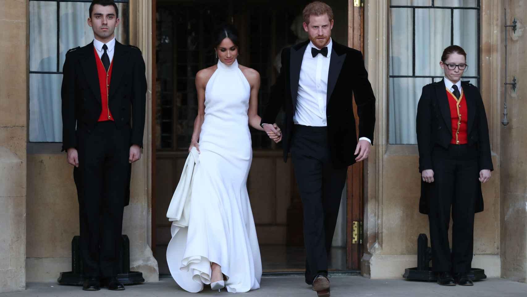 Así es el segundo vestido que lució Meghan Markle