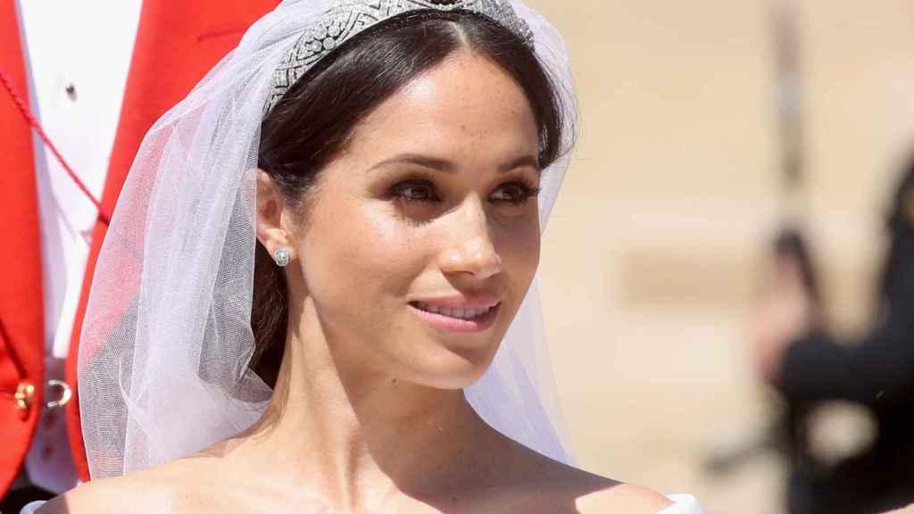 Meghan Markle, el día de su boda con el príncipe Harry.