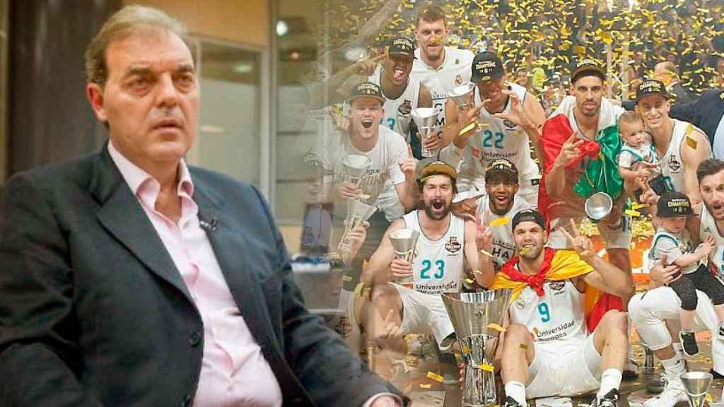 Juan Carlos Sánchez, director de la sección de baloncesto