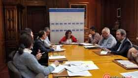 zamora diputacion mesa dialogo social (2)