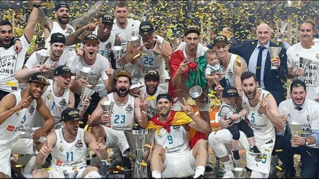 La Décima del Real Madrid de baloncesto