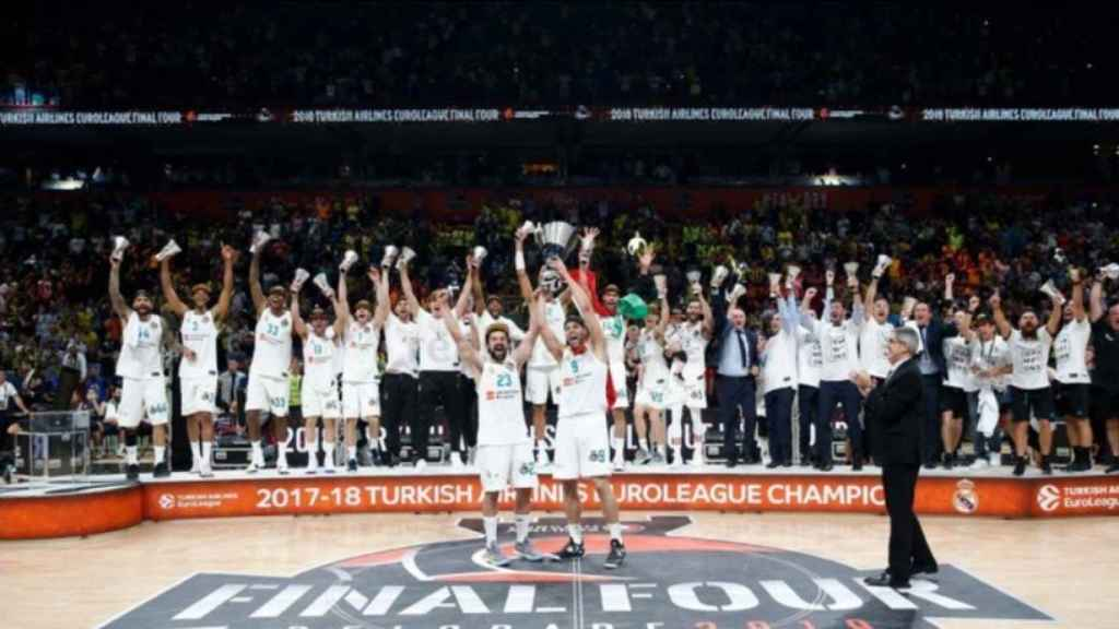 El Real Madrid, campeón de la Euroliga