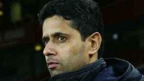 Nasser Al-Khelaïfi, dueño del PSG   Foto: psg.fr