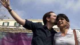El líder de Podemos, Pablo Iglesias, y la líder de Podemos Andalucía, Teresa Rodríguez, en una imagen de archivo.